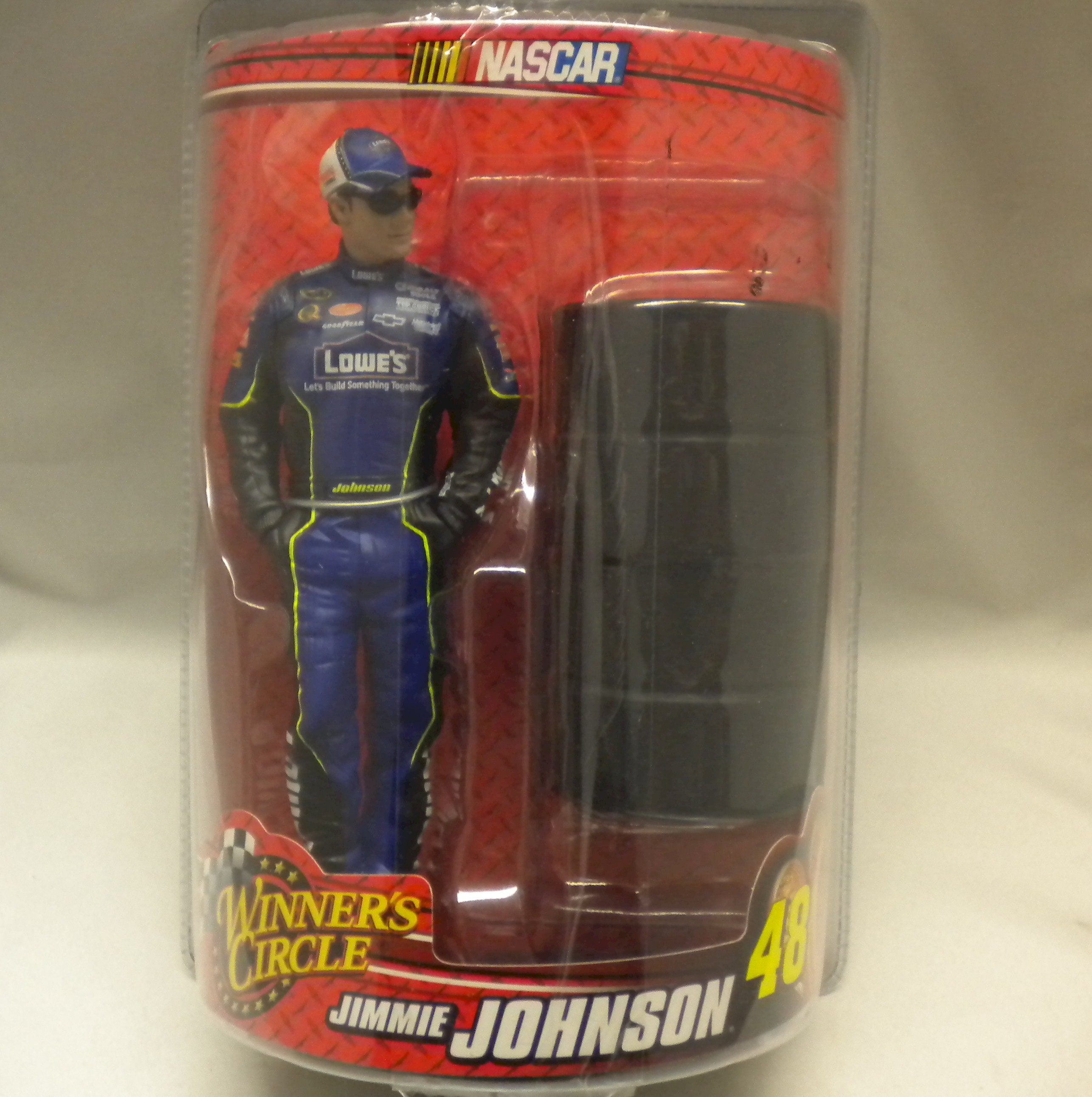 Jimmie Johnson NASCAR Collectible Figurine